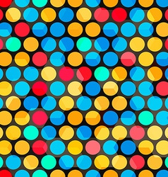 abstract color bubbles seamless vector image