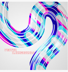 Abstract colorful lines concepts vector