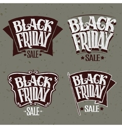 Black Friday and light rays vector image