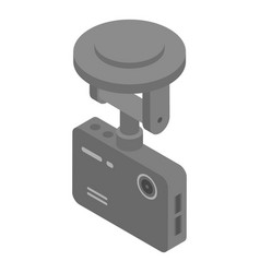 Dvr camera icon isometric style vector