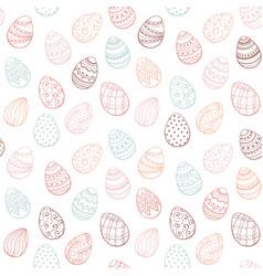 easter egg pattern vector image