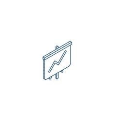 growth graph chart market success stock bar up vector image