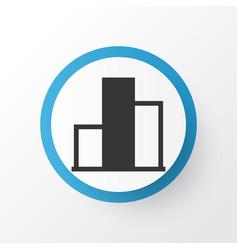 Monitoring icon symbol premium quality isolated vector
