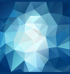 Polygonal square background sky blue vector