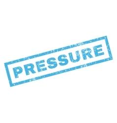 Pressure Rubber Stamp vector