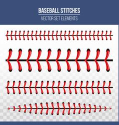 creative of sports baseball vector image