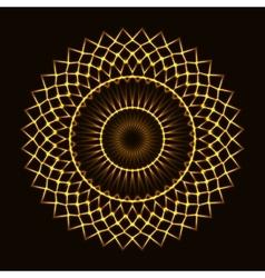 Abstract cosmic circle vector