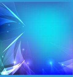 Abstract Light Wave with Blurred Background vector