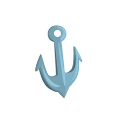 anchor cartoon vector image