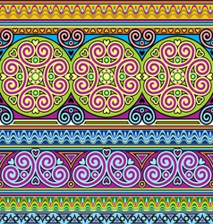 Asian ornament seamless vector
