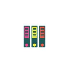 Binders Icon vector