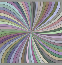 Colorful hypnotic abstract swirl stripe vector