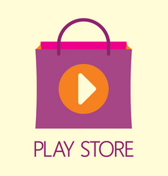 play store vector image