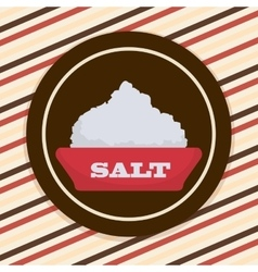 Salt icon design vector image