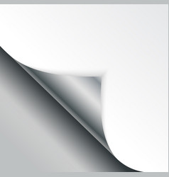 shape of bent angle is free for filling silver vector image