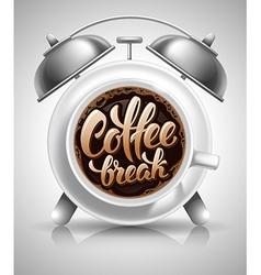 Coffee Break Concept vector image vector image