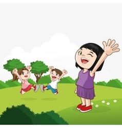 Kid icon child design Childhood concept vector image