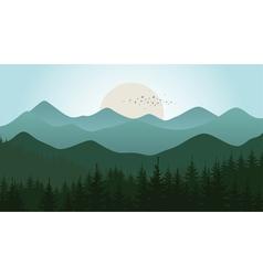 Mountain5 vector image vector image