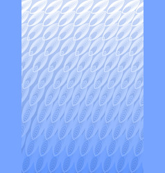 Light blue overlay background in optical art style vector