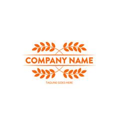 bakery logo-10 vector image vector image