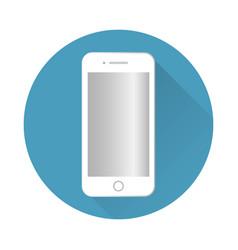 icon smartphone vector image