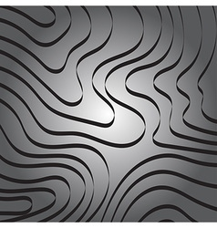 Abstract Curve Ribbon Line on Gray Background vector
