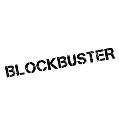 Blockbuster rubber stamp vector