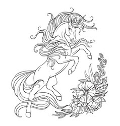Unicorn Coloring Vector Images Over 14 000