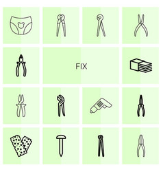 Fix icons vector