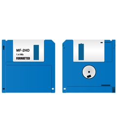 Floppy diskette vector