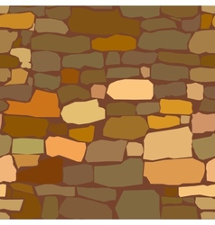 stone masonry vector image