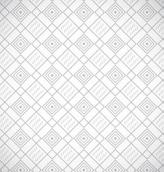 Geometric gray seamless pattern vector image vector image