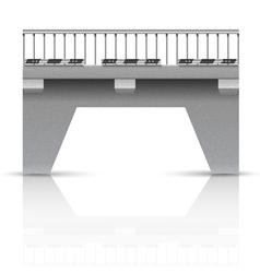 Span bridge vector image vector image