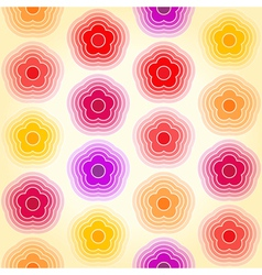 Bright geometric seamless background vector image vector image