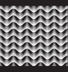 Abstract line striped seamless pattern geometric vector