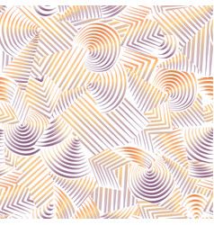 abstract seamless pattern line geometric vector image