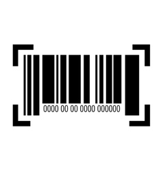 barcode with serial number vector image