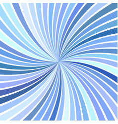 Blue abstract psychedelic swirl background from vector