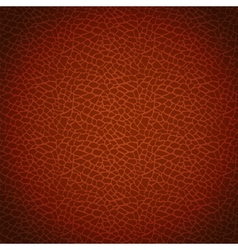 Brown leather texture vector
