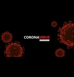 Coronavirus or corona virus concept covid-19 vector