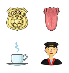 Guard medicine and other web icon in cartoon vector