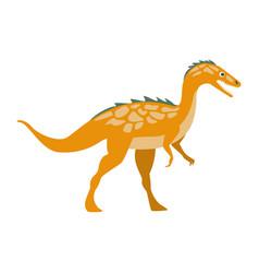 predator raptor dinosaur of jurassic period vector image