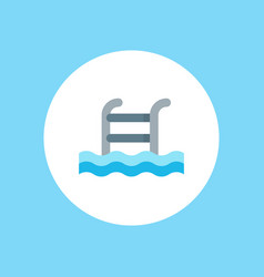 swimming pool icon sign symbol vector image