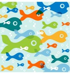 fish vector vector image