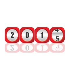 2015 counter for new year vector image
