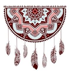 Ethnic American Indian Dream catcher vector image vector image