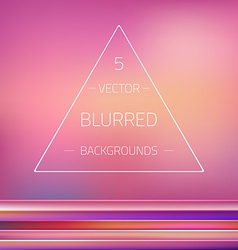 Abstract Gradient Mesh Blurred Passion 5 vector image