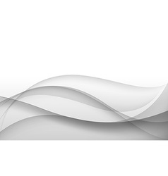 Abstract gray background with wave vector