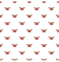 Butterfly archippus sangaris pattern seamless vector
