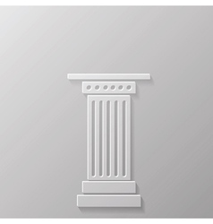 Column icoon vector